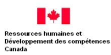 Ressources humaines et Développement des compétences Canada