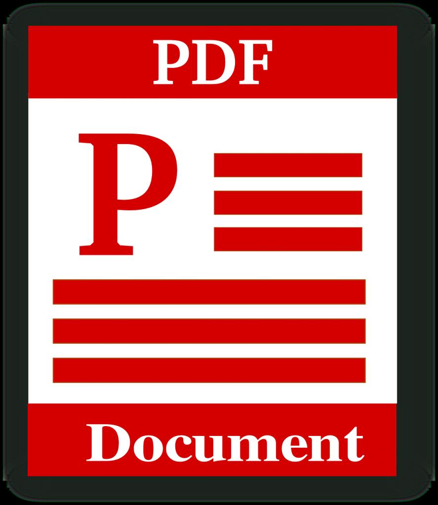 file type, pdf, portable document format