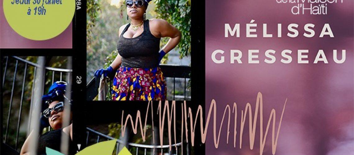 Mélissa Gresseau Présentation Artiste MDH